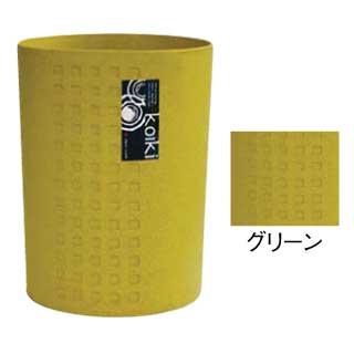 【まとめ買い10個セット品】コイキ モダン 丸型(小) 4.5L (GR)グリーン