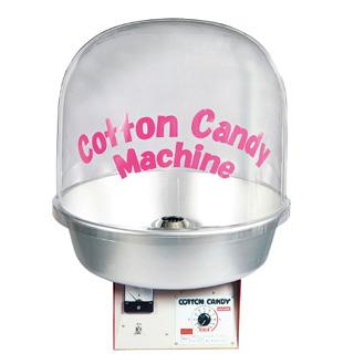 【 業務用 】全自動わた菓子機 CA-120型 Bubbieカバー 【 メーカー直送/代金引換決済不可 】