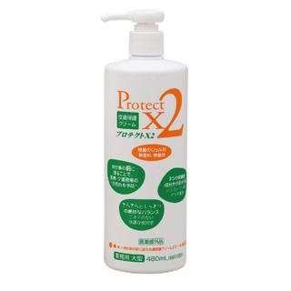 【まとめ買い10個セット品】【 業務用 】業務用 皮膚保護クリーム プロテクトX2 480ml[大型]