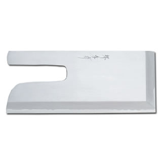 【 業務用 】堺孝行 蕎麦切り包丁 白二鋼 磨き 33cm 08364
