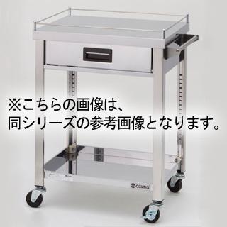 【 業務用 】東製作所 4方コボレ止め 2段 ステンレス製ワゴン 900×450×800