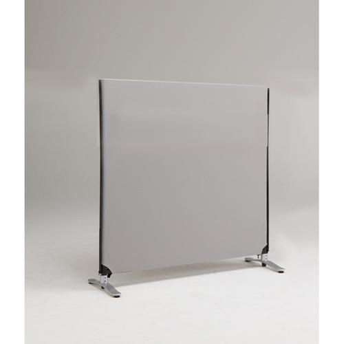 ZIP LINK システムパーティション 高さ1200mm YSNP120S-LG ライトグレー 1枚 林製作所 【メーカー直送/代金引換決済不可】【厨房館】
