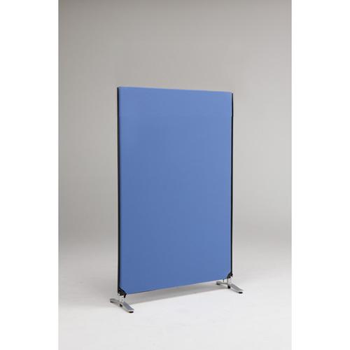ZIP LINK システムパーティション 高さ1615mm YSNP100M-BL ブルー 1枚 林製作所 【メーカー直送/代金引換決済不可】【厨房館】