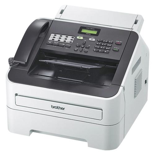 JUSTIO FAX-2840 1台 ブラザー 【メーカー直送/代金引換決済不可】【厨房館】
