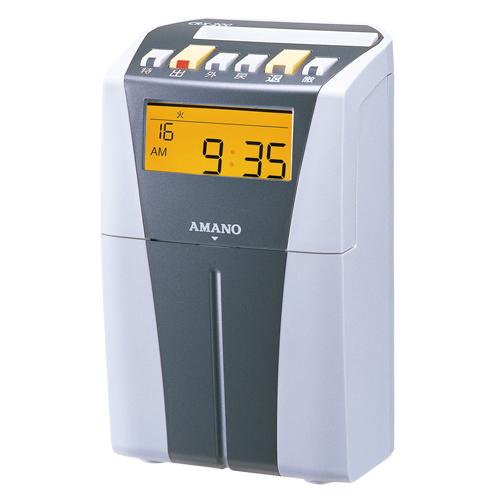 電子タイムレコーダー CRX-200(S) シルバー 1台 アマノ【 オフィス機器 タイムレコーダー タイムレコーダー 】【厨房館】