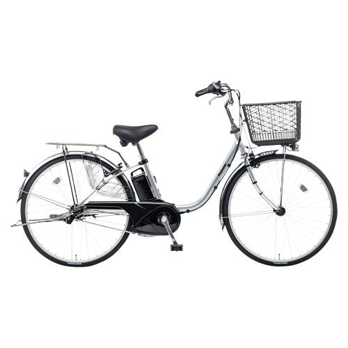 パナソニック 電動アシスト自転車 ビビFX BE-ELF63S モダンシルバー 【 メーカー直送/代引不可 】 【厨房館】