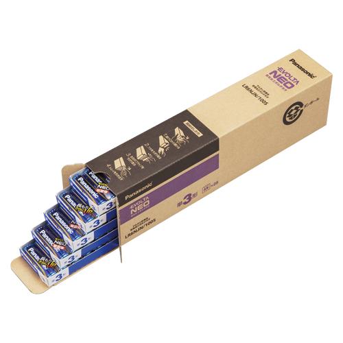 パナソニック エボルタNEO オフィス用電池 単3 100本パック LR6NJN/100S 【厨房館】