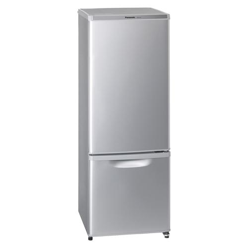 パナソニック パーソナル冷蔵庫 NR-B17AW-S シルバー 【 メーカー直送/代引不可 】 【厨房館】