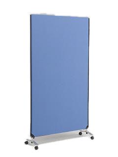 ZIP LINK システムパーティション 高さ1850mm YSNP100L-BL ブルー 【厨房館】