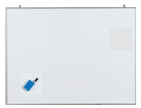 馬印 軽量ホワイトボード NVシリーズ 無地 CNV34 【厨房館】
