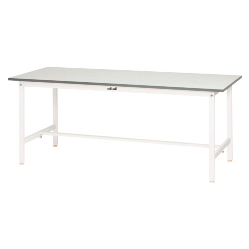 ワークテーブル 150シリーズ 均等耐荷重150kg SUP-1260-WW シルキーホワイト 【厨房館】