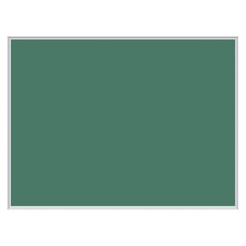 壁掛用ツーウェイ掲示板 グリーン KB34-910 【厨房館】
