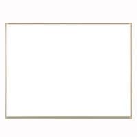 ホワイトボード壁掛 50mm方眼暗線入(ホーロー製・アルミ枠) CR-WB34R 【厨房館】