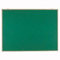 掲示板 壁掛用 ベルフォーム貼・アルミ枠 グリーン CR-BK34-G 【厨房館】
