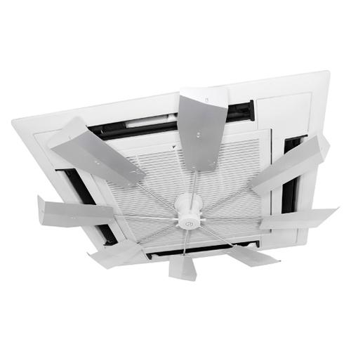 ハイブリッドファン 天井カセット型エアコン用 HBF-FJRSW シルバー 【厨房館】