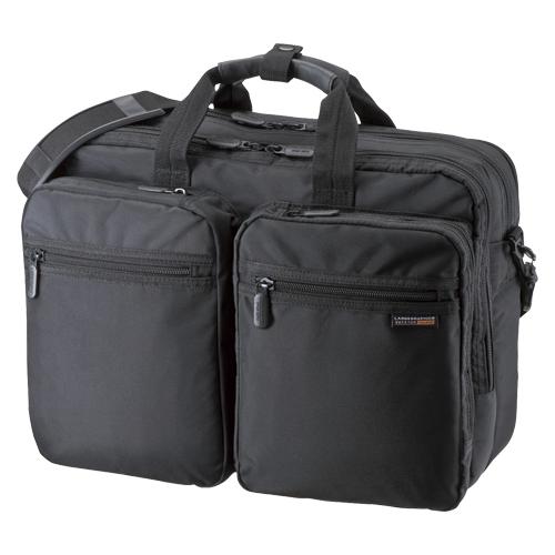 3WAYビジネスバッグ(出張用) BAG-3WAY21BK ブラック 【厨房館】