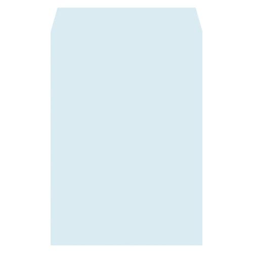 ハーフトーン封筒 角2・500枚入 7871 ブルー 【厨房館】