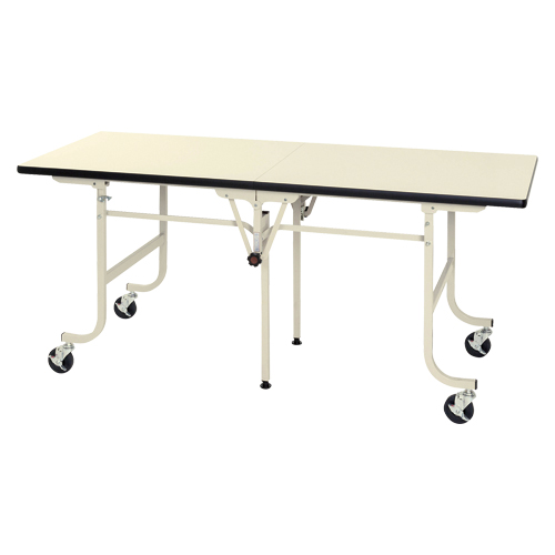 ワークテーブル フライトタイプ SFM-1875-II アイボリー 【厨房館】