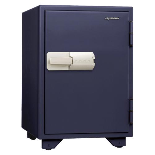 特殊マグネットロック式耐火金庫 特殊マグネットロック式 KS-50MN ネイビー 【厨房館】