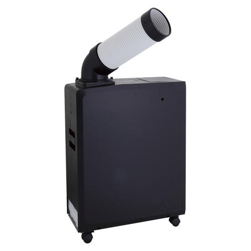 ポータブルスポットエアコン SS-16MXB-1 ブラック 【厨房館】