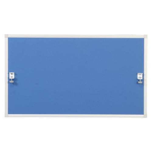 オフィスデスク(昇降タイプ) 昇降デスク用デスクトップパネル LDC-TP1270(BL) ブルー 【厨房館】