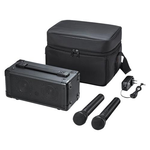 ワイヤレスマイク付き拡声器スピーカー MM-SPAMP7 【厨房館】