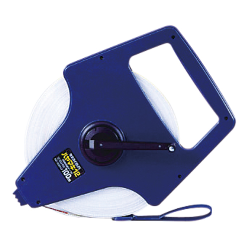 エスロン巻尺 ガラス繊維製テープ ハヤマキ12 12-100HRW 【厨房館】