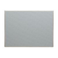 掲示板 壁掛用 ベルフォーム貼・アルミ枠 ライトグレー CR-BK34-LG 【厨房館】