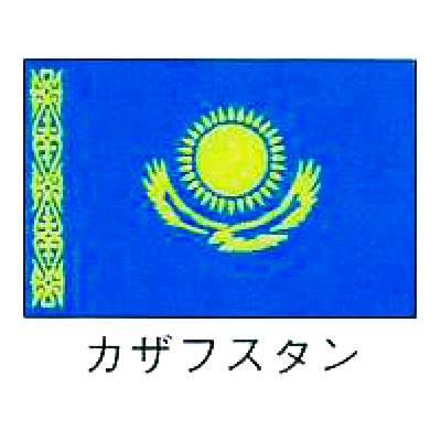 【 業務用 】旗 世界の国旗 カザフスタン 120×180