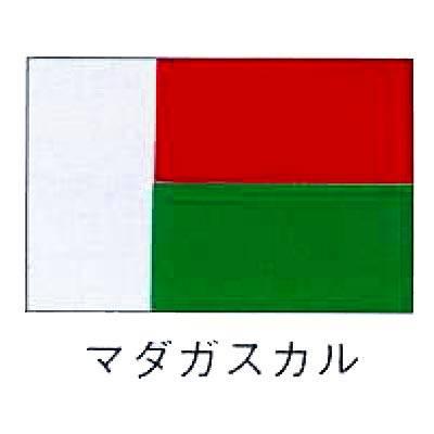 【 業務用 】旗 世界の国旗 マダガスカル 140×210