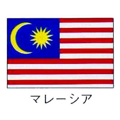 【 業務用 】旗 世界の国旗 マレーシア 140×210
