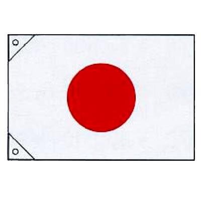 【 業務用 】旗 日本の国旗 180×270 生地:スエード