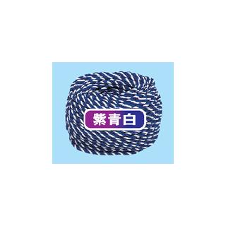 紐(1巻き) 三色紐(紫青白)