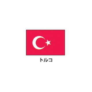 旗(世界の国旗) エクスラン国旗 トルコ 取り寄せ商品