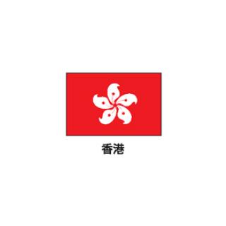 旗(世界の国旗) エクスラン国旗 香港 取り寄せ商品