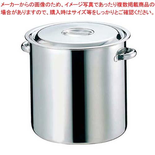 【まとめ買い10個セット品】EBM 18-8 寸胴鍋/キッチンポット(目盛付)51cm パイプ手付【 ガス専用鍋 】 【厨房館】