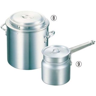 【まとめ買い10個セット品】アルミ 湯煎鍋33cm用 内鍋丈【 鍋全般 】 【厨房館】