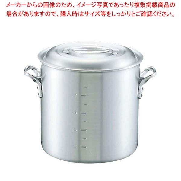 【まとめ買い10個セット品】キング アルミ 寸胴鍋(目盛付)27cm【 ガス専用鍋 】 【厨房館】