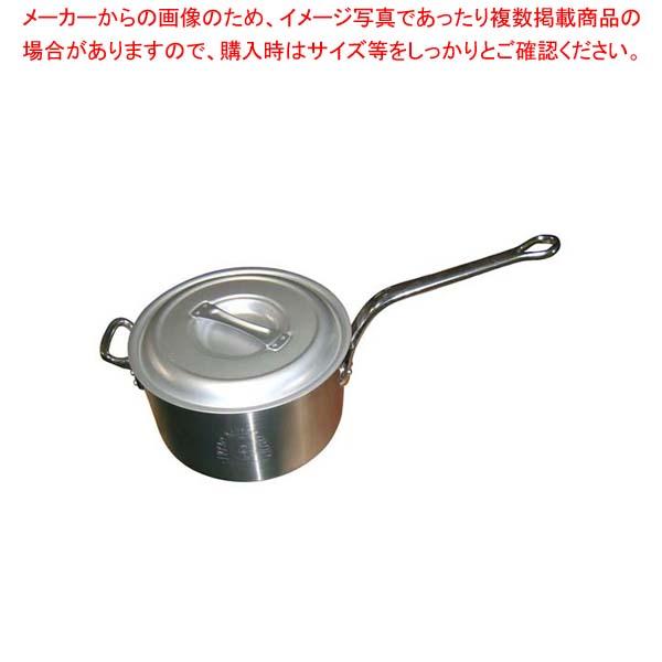 【まとめ買い10個セット品】 【 業務用 】【 即納 】 アルミ キング 深型 片手鍋(目盛付)30cm