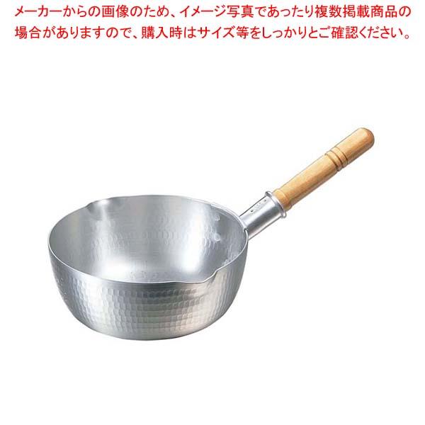 【まとめ買い10個セット品】ナカオ アルミ打出 雪平鍋(目盛付)21cm 両口【 鍋全般 】 【厨房館】