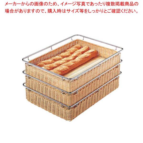 【まとめ買い10個セット品】 【 業務用 】籐コンテナー PF-6-A