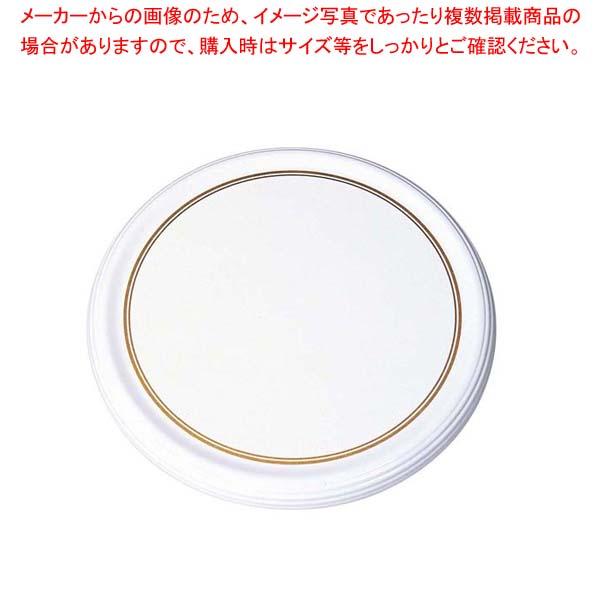 【まとめ買い10個セット品】 【 業務用 】メラミン陶器風 ケーキトレー CT-2300-WS