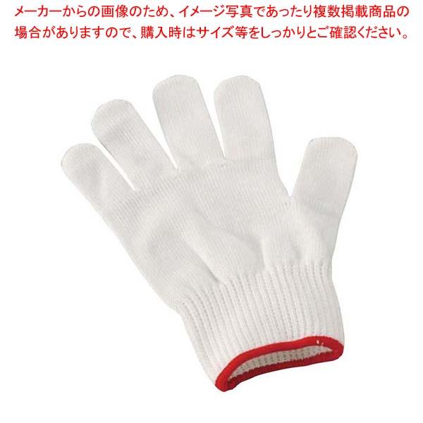 【まとめ買い10個セット品】 【 業務用 】耐切創手袋 タフテック 赤 M(2枚1組)