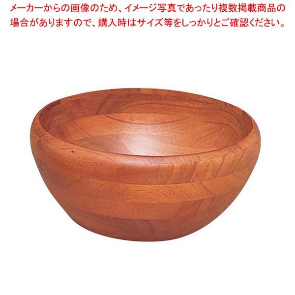 【まとめ買い10個セット品】 【 業務用 】木製 サラダボール SL-150B