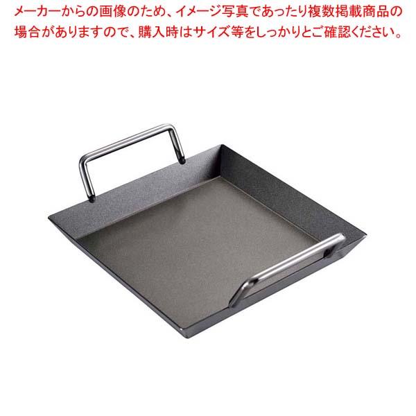 【まとめ買い10個セット品】EBM 18-0 浅型 モツ鍋(てっちゃん鍋)テフロン加工21cm【 卓上鍋・焼物用品 】 【厨房館】