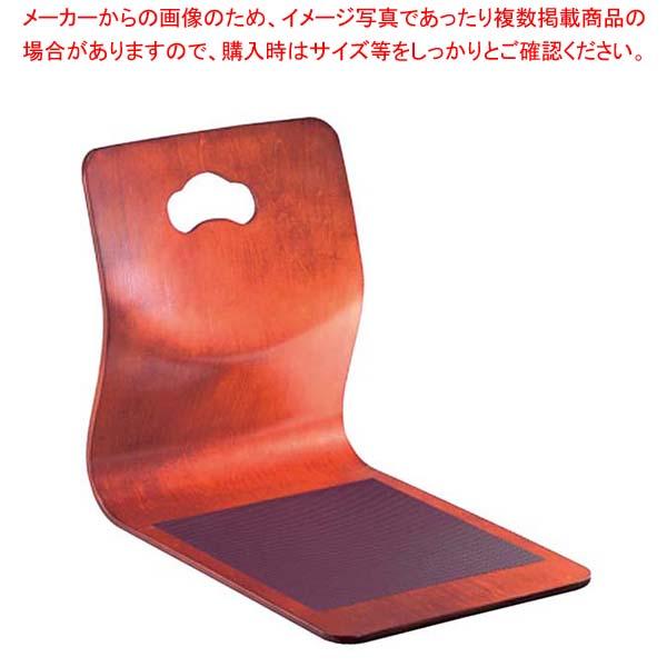 【まとめ買い10個セット品】 【 業務用 】背松抜き 座椅子 ケヤキ 9-234-7【 メーカー直送/代金引換決済不可 】