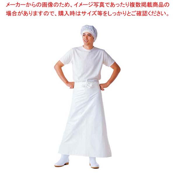【まとめ買い10個セット品】 【 業務用 】マイティクロス エプロン 腰下 E-1002-0 ホワイト L