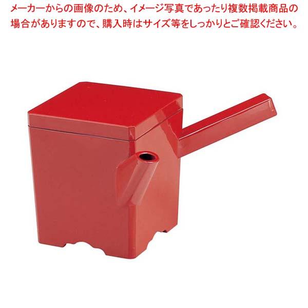 【まとめ買い10個セット品】 【 業務用 】角ゆとう 朱 小 ABS樹脂 1-556-10