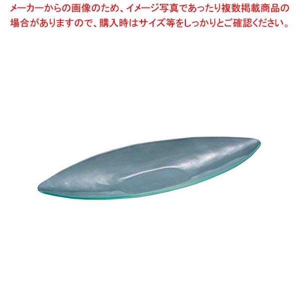 【まとめ買い10個セット品】 【 業務用 】Grande Vetro 舟型プレート 31cm GV3121