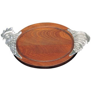 【まとめ買い10個セット品】木製 カービングボード トリ 【厨房館】